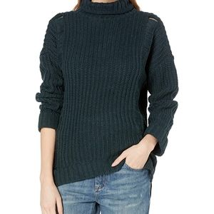 Supplies by Union Bay Shaker Rib Mock Neck Sweater